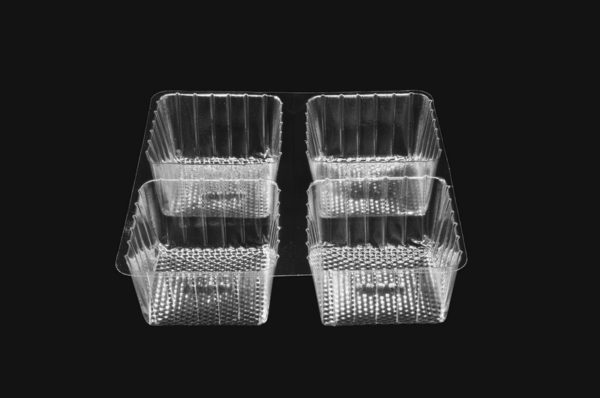 DMD 31Q - Quad Cavity Square Deep Tray