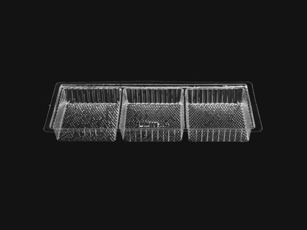 DMD 36 - 3 Cavity Square Shallow Tray