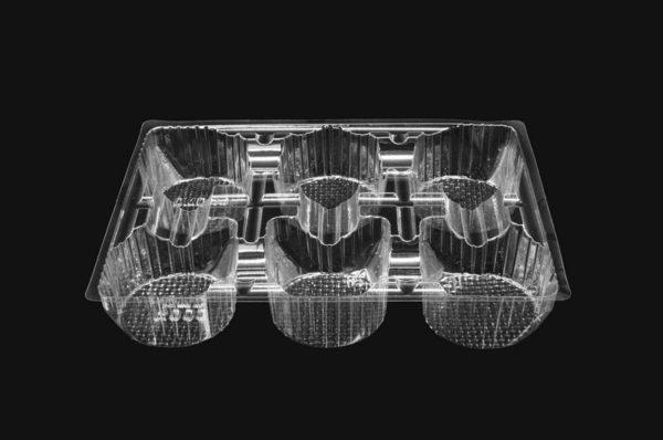 DMD 85 - 6 Cavity Round Biscuit Tray