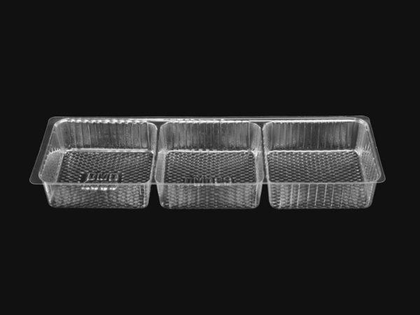 DMD 88 - 3 Cavity Square Shallow Tray