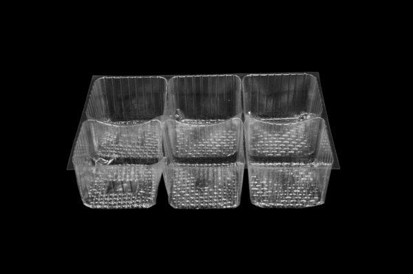 DMD 90 - 6 Cavity Square Tray