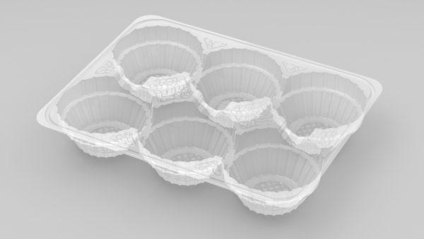 11190 - 6 Cavity Mince Pie Tray