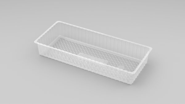 11223 - Deep Open Oblong Tray